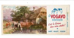Buvard LE VOGAVO Castagné La Fortune Dans Votre étable Veau Vache Ferme - Animals