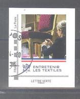 France Collector Oblitéré (Elysée 2019 - Entretenir Les Textiles) (cachet Rond) - Collectors