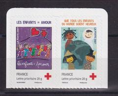 D213 / N° 145/146 PAIRE ADHESIF NEUF** COTE 5€ - Collezioni