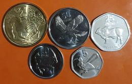 Lot De 5 Monnaies Du Botswana UNC à Saisir /09 - Botswana