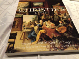 Painting Important Old Master Art Auction Christie SNew York - Cultural