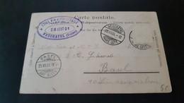 Neuchatel - Stempel Hotel Des Alpes Et Hotel Terminus Neuchatel 1901 - Non Classificati