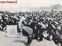 PHOTOGRAPHIE ANCIENNE : CHINA HANKOU WUHAN GUERRE SINO-JAPONAISE VICTOIRE DE HANKEOU EMPEREUR PALAIS TOKIO - Guerra, Militari