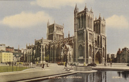 Postcard Bristol Cathedral My Ref B14497TB - Bristol
