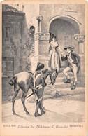 Adieux Du Château - L. Girardet - Peintures & Tableaux