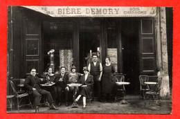 """Carte Photo à Identifier Café Bois Charbons """" Maison ALARY ??? """" (Voir Photos R/v Et Description) - Bar, Alberghi, Ristoranti"""