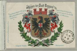 Wappen Der Stadt Boppard - Königreich Preußen  Rheinprovinz (Septembre 2021 145 A - Andere