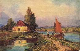 R596807 Italian Scenery. Tuck. Oilette Connoisseur. No. 2393. 1923 - Mondo
