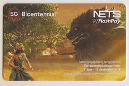 Singapore Cash Card Transport Unused Gemalto Cashcard Bicentennial - Altri