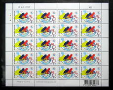 Thailand Stamp FS 1999 Asian And Pacific Decade Of Disabled Persons - Thailand