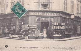 Angle De La Rue Neuve Et De L'Ancien Hôpital  BOS JEUNE - Clermont Ferrand