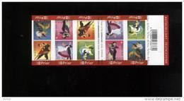 Belgie Boekje Carnet 2006 B68 Dances Dansen Danses - Postzegelboekjes 1953-....
