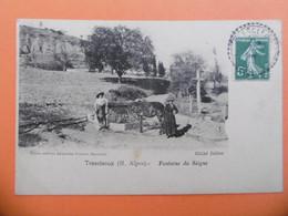 TRESCLEOUX ( 05 ) Fontaine Du SEIGNE - Andere Gemeenten