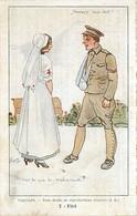 Illustration Soldat Et Infirmiere ,  * 425 60 - Weltkrieg 1914-18