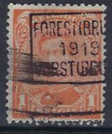Koning Albert I Type I Nr. 135 Voorafgestempeld Nr. 2436 C  FOREST (BRUX.) 1919 VORST (BRUS.)  ; Staat Zie Scan ! - Roller Precancels 1920-29