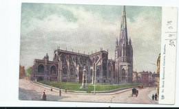 Postcard Bristol St.mary Redcliffe Church 1904 Tuck's Unused - Bristol