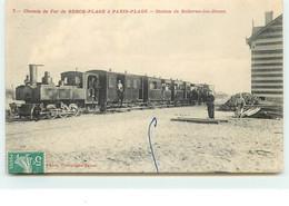 Chemin De Fer De BERCK-PLAGE à PARIS-PLAGE - Station De Bellevue-les-Dunes - Andere Gemeenten