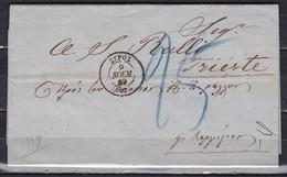 GREECE 1869 Commercial Shipsletter From ΣΥΡΟΣ To Mr. Ralli / Trieste - ...-1861 Prephilately