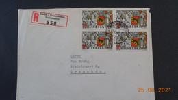 Lettre De 1941 à Destination De Grenchen En Recommandé - Covers & Documents
