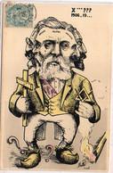 MILLE - Politique (Surréalisme) X...??? 1906 - 19.... Rouvier, Brisson, Fallières, Deschanel, Doumer  ( 7994 ASO) - Mille