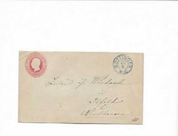Brief Aus Göttingen Nach Ihlfeld - Enteros Postales