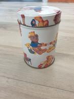 Petite Boîte Métal Yves Rocher Avec Famille D'ours - Unclassified