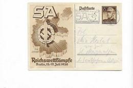 Karte Aus Berlin 1938 - Brieven En Documenten