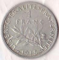 1 Franc Semeuse 1915 217-21  SUP - H. 1 Franc