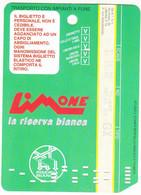 SKIPASS ABBONAMENTO GIORNALIERO LIMONE PIEMONTE LA RISERVA BIANCA 1998 - Toegangskaarten