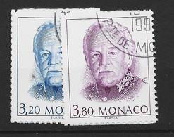 MONACO Yv 1722/3 Obli - - Used Stamps