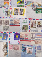 COLOMBIE COLOMBIA - Lot De 187 Enveloppes Et Cartes Timbrées Timbres Stamp Air Mail Covers Batch Of Letters Correo Aereo - Colombie