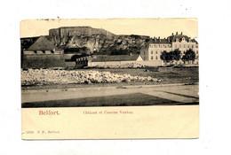 Carte Belfort Vhatreau  Caserne Vauban Cachet Sir Blanc - Belfort - City