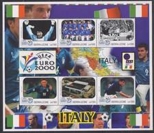 Soccer European Cup 2000 - Football - SIERRA LEONE - Sheet MNH Team Italy - Europei Di Calcio (UEFA)