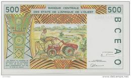 WEST AFRICAN STATES P. 310Ci 500 F 1998 UNC - Burkina Faso