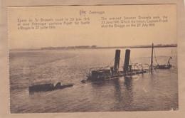 Bateau épave Du Sr Brussels Coulé En 1916 Et Dont Le Capitaine Fryatt Fut Fusillé à Bruges - War 1914-18