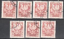 Poland 1950 - Postage Due - Mi.114-20 - Used - Impuestos