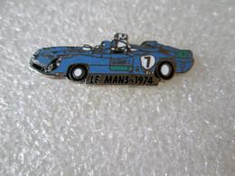 PIN'S    24 HEURES DU MANS  1974 MATRA   MS  680    Email Grand Feu   EMC  Argenté - Rallye