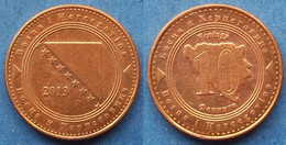 BOSNIA-HERZEGOVINA - 10 Feninga 2013 KM# 115 Federal Republic - Edelweiss Coins - Bosnia And Herzegovina