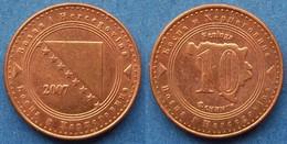 BOSNIA-HERZEGOVINA - 10 Feninga 2017 KM# 115 Federal Republic - Edelweiss Coins - Bosnia And Herzegovina