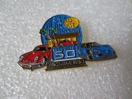 TOP   RARE  PIN'S    PORSCHE   CLUB OF AMERICA   1953 2013   911 ROUGE - Porsche