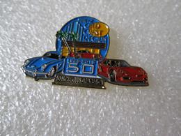 TOP   RARE  PIN'S    PORSCHE   CLUB OF AMERICA   1953 2013   911 BLEU - Porsche