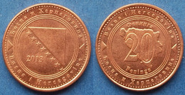 BOSNIA-HERZEGOVINA - 20 Feninga 2013 KM# 116 Federal Republic - Edelweiss Coins - Bosnia And Herzegovina