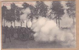 Une Manoeuvre D'artillerie Sur La Plaine St. Martin à Tournai - Maniobras