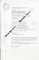 Veurne, 1998, Maurits Depuydt, Duron, Rijkswachter, Oud-Strijder, Familie Deywel, Sabbe, Duron - Images Religieuses