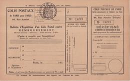 FRANCE : COLIS POSTAUX . DE PARIS POUR PARIS . N° 194 . SPINK . 1937 . - Nuovi