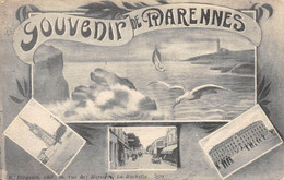 21-8274 : MARENNES. SOUVENIR DE MARENNES. VUES MULTIPLES - Marennes