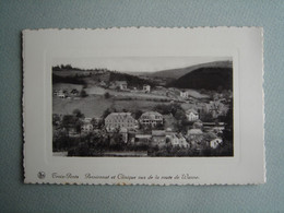 Trois-Ponts - Pensionnat Et Clinique Vus De La Route De Wanne - Trois-Ponts