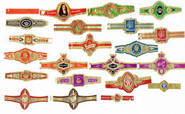 Willem II: Diverse,  Genummerd (tussen 1490 En 2837) - Cigar Bands
