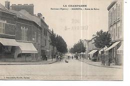 51 - MAGENTA - Route De Reims  (Petite Animation - Commerces) - Autres Communes