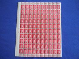 Ostland Michel-Nr. 8, Kompletter Schalterbogen, Postfrisch, Überdruck Auf Deutsches Reich Michel-Nr. 788 - Besetzungen 1938-45